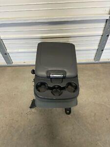 2003-2018 Dodge Ram 1500 2500 3500 Center Jump Seat Console Grey Cloth