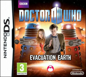 Doctor Who Evacuation Earth For Nintendo DS