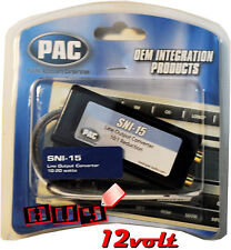 PAC SNI-15 Line Out Converter for Adding Amplifier to Factory Radio