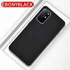 For OnePlus Nord N200 5G Luxury Hybrid Fabric Canvas Cloth Shockproof Case Cover