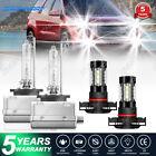 For 2007-2010 GMC Acadia HID LED Headlight Foglight Combo Bulbs D1S+H16 6000K