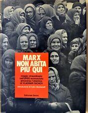 Marx non abita più qui viaggio nell'URSS Russia foto Vladimir SICHOV autografato