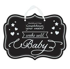 pregnancy baby chalk board sign countdown weeks prop photo photography unisex