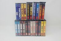 Now That's What I Call Music Double Cassette Tape Bundle 12-22 EMI 11 Tapes