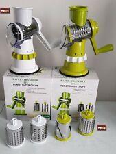 Robot de cuisine manuel rapeur trancheur juliennes et rondelles
