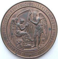 MEDAILLE NIEDERLANDE 1895 in fast STEMPELGLANZ (UNC) 72 GRAMM !!!