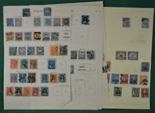 ECUADOR STAMPS SELECTION  ON 13 ALBUM PAGES (K102)