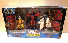 TOY BIZ MARVEL LEGENDS X-MEN LEGENDS BOX SET WITH SPECIAL POSTER BOOK INCLUDED