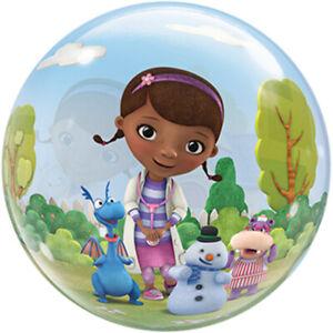 "22"" Doc McStuffins and Friends Stretchy Plastic Bubble Balloon Party Decoration"