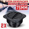 2pcs 75mm Car Heater Ducting Warm Air Vent Outlet Fit Eberspacher Webasto Propex