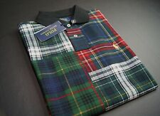 POLO RALPH LAUREN Men's Custom Slim Fit Patchwork Polo Shirt NEW NWT
