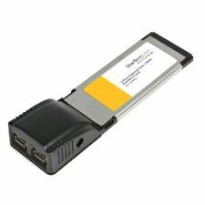 StarTech N71139M StarTech 2 Port ExpressCard 1394b FireWire Laptop Adapter Card