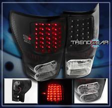 2007-2013 TOYOTA TUNDRA LED ALTEZZA TAIL BRAKE LIGHTS LAMPS BLACK 2008 2009 2010