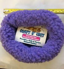 "VOTOYS COMFY COZY N COZY SOFT SMALL ANIMAL BED MAT 7"" PURPLE. TO USA"