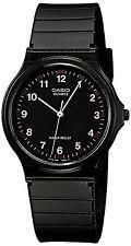 Casio Unisex MQ-24-1BLLGF Quartz Watch with Black Dial Analogue Display