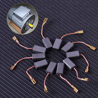 10pcs Carbon Brushes for GWS 850 C GWS 7-115 GWS 8-125 GWS 9-125C GWS6-100