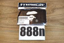 A Bathing Ape Bape Embroidery Logo Black Face Mask