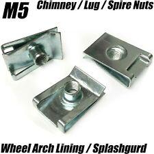 20x WHEEL ARCH LINER SPLASH GUARD BUMPER M5 U NUT LUG SPIRE NUT FOR BMW AUDI VW
