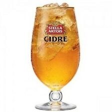 24  STELLA ARTOIS CIDRE CHALICE 20oz PINT GLASSES GOLD RIM M13 Free Shipping UK