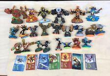 Skylanders Lot of 23 Figures & 7 cards.