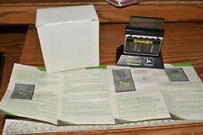 Vintage 1990's John Deere StrongBox Battery free - Clock new In Package