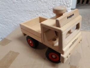 FAGUS, Spielzeug LKW, Unimog ,Auto Holzauto, wenig bespielt