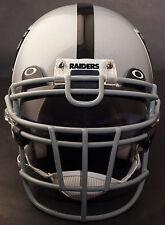 Oakland Raiders Schutt Rjop-Ub-Dw Football Helmet Facemask/Faceguard (Gray)