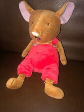 Kohls Cares If You Give A Mouse A Cookie Plush Red Overalls Stuffed Toy 13 Inch