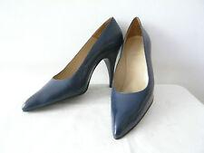 """Escarpins  """"Bleu Marine"""" Années 1960  -- T.40"""