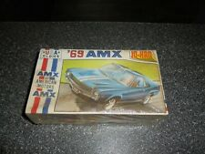 Vintage Jo-Han '69 AMX Model Kit Sealed