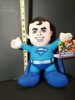 "New DC Comics Superman Blue 13"" Licensed Plush Stuffed Toy"
