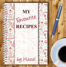 A5 Personalizado receta planificador, escribe tu propio recetas, Saludable Recetario,03
