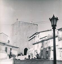 PORTUGAL c. 1950 -Auto Travaux de Voirie Tour Observatoir Météo Guarda- DIV 9222