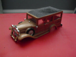 Vintage Ideal Motorific Woody Station Wagon Body