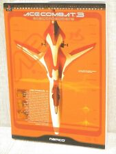 ACE COMBAT 3 Electrosphere Guide Sony PS 1999 Book NM