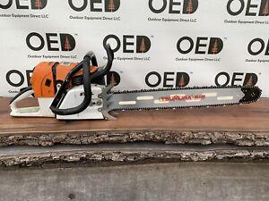 """Stihl MS660 Magnum Chainsaw NICE 92cc Saw W/ 3/4 WRAP New 28"""" Bar/Chain FASTSHIP"""