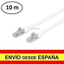 Cable de Conexión a Red Ethernet Lan RJ45 Telefono 10 Metros a2945