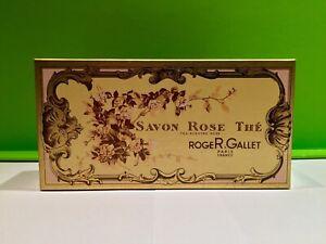 ROGER & GALLET 2x 100g Seife Soap Savon TEA ROSE / ROSE THE / BOX OVP 80er Jahre