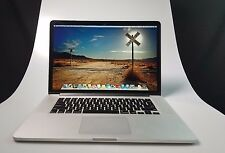 "Apple Macbook Pro Laptop 15.4"" Quad-Core i7 2.3 - 3.3 Ghz - 8GB RAM - 256GB SSD"