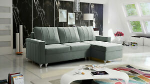 Brand New corner sofa bed with storage Rossi