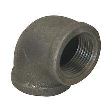 """2"""" BLACK MALLEABLE IRON 90 ELBOW DEG 90° ELBOW fitting pipe npt"""