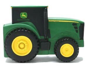 John Deere Toy Tractor Case Carrier Ertl Collections Green Holder Plastic Hauler