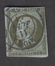 France -Timbres oblitérés - Napoléon N° 11 - 1c olive