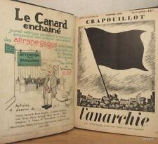 GALTIER-BOISSIÈRE CRAPOUILLOT GOGO ANARCHIE Victor SERGE FRANC MACONNERIE DIOR