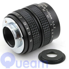 "2/3"" Television TV Lens/CCTV Lens for C Mount Camera 35mm F1.7 GF5 GX1 GF3 G3"