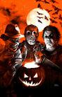 Freddy Krueger Jason Voorhees Michael Myers poster art print Halloween horror