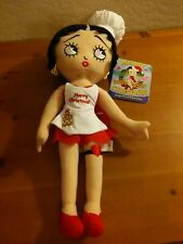 Betty Boop Stuffed Plush cloth Doll Chef cookie baker Merry Christmas Holiday