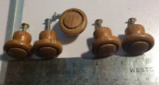 Lot of 5 Wooden Draw Pulls Handles 1