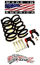 "F150 97-04 LIFT LEVELING KIT 3"" COIL SPRINGS 2"" SHACKLES EXTENDERS HW V8 USA"