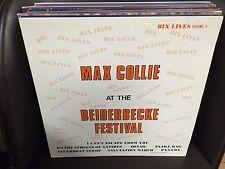 Max Collie At the Beiderbecke Festival Bix Lives Volume 5 vinyl Lp Private Press